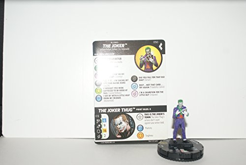 DC Heroclix Harley Quinn and the Gotham Girls set The Joker #050 Super (Super Rare Set)