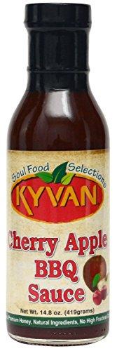 KYVAN Cherry Apple BBQ Sauce - 2 Pack by KYVAN