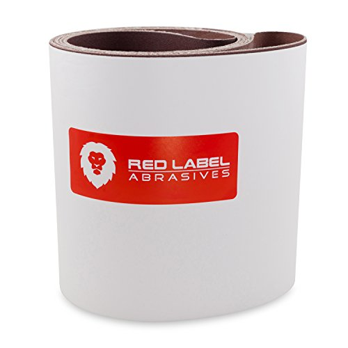 6 X 108 Inch 150 Grit Aluminum Oxide Multipurpose Sanding Belts, 2 Pack by Red Label Abrasives (Image #2)