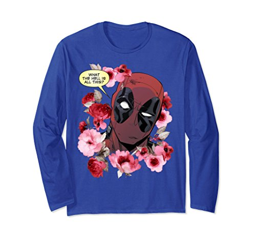 Marvel Deadpool What's This Valentine's Long Sleeve Tee