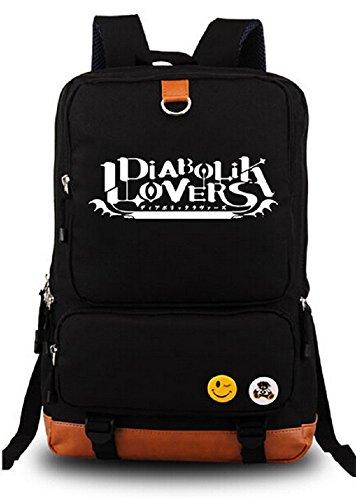 Siawasey Diabolik Lovers Anime Cosplay Luminous Backpack Shoulder School Bag