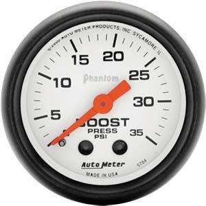"Autometer 5704 2"" BOOST, 0-35 PSI, MECH PHANTOM"