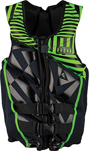 - Radar Boy's TRA Teen CGA Lifevest Blk/Lime (2018) -75-125 pounds.