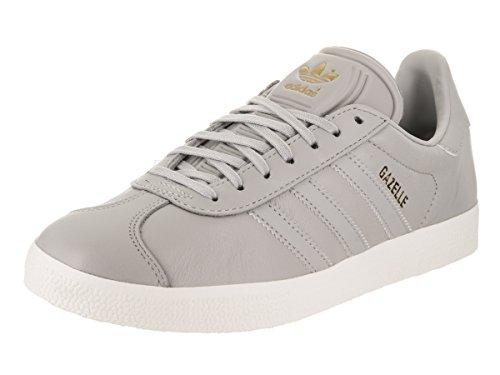 adidas Women's Gazelle Originals Grey/Grey/Gold Metallic Casual Shoe 9 Women US