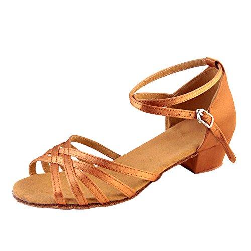 Scarpe Latina Donne da della carne per della Morbide Danza la Ragazze Colore Pratica e Ballo KINDOYO per OgpdqO