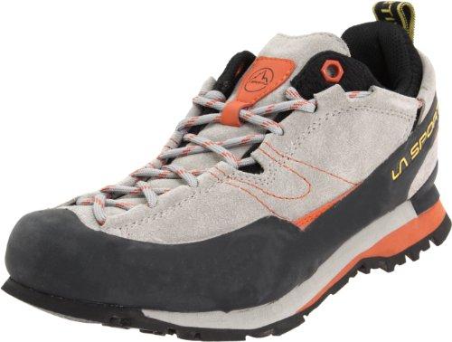 La Sportiva – Boulder X Mens Approach Shoes – 44.5 – Grey/Orange, Outdoor Stuffs