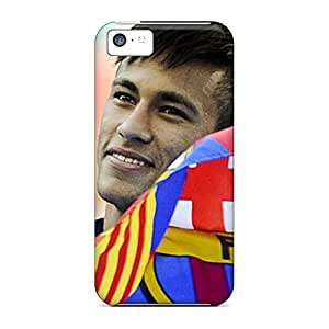 iphone 5c PC phone cover case New Arrival Wonderful High the best football player of barcelona neymar