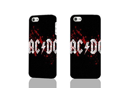ACDC Photo Hard 3d iphone 5C Case , Fashion Image Case Diy, Personalized Custom Durable 3d Case For iPhone 5C