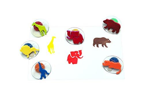 wild animals stamps