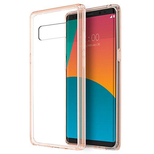 For Samsung Galaxy Note 8 TPU Gel GUMMY Protector Hard Skin Cover +Screen ()