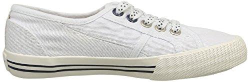 Pepe Jeans London Baker Plain - Zapatillas Niñas Blanco