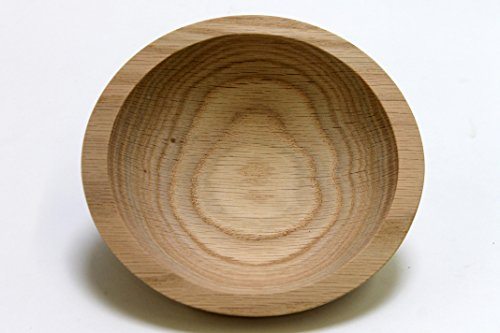 6 Inch Solid Wood Bowls - Cherry, Walnut, - Walnut Salad Bowl Set