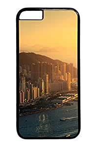 iphone 6 4.7inch Cases & Covers Hong Kong Sunrise Custom PC Hard Case Cover for iphone 6 4.7inch black