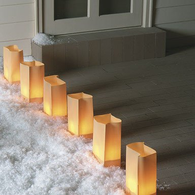 luminarias-brown-set
