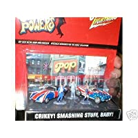 Austin Powers Johnny Lightning Diorama Crikey! ¡Cosas sensacionales, bebé!