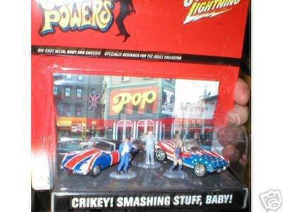 (Austin Powers Johnny Lightning Diorama Crikey! Smashing Stuff,)