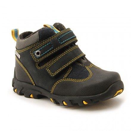 be04dc279 Startrite Boys Aqua Trek Navy Blue Yellow Leather Velcro Boots Shoes:  Amazon.co.uk: Shoes & Bags