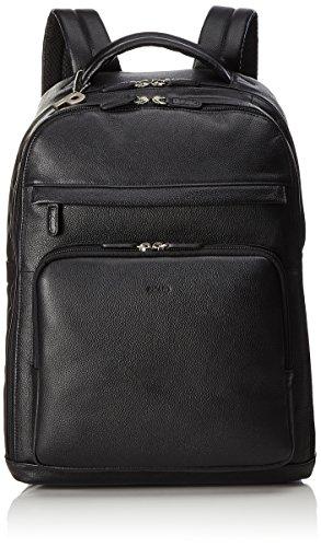 PICARD Men Leather Backpack Luis Black 6772