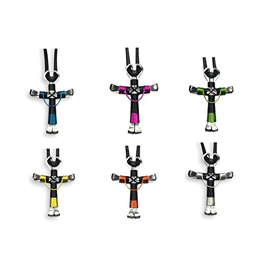Swag Design Horseshoe Nail Cross Necklace 6 Pack Swag Horseshoe Nail Crosses) by Horseshoe Crosses