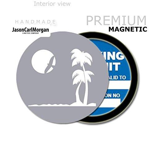 Silver JCM Beach MOT License Tax Disc Permit Holders