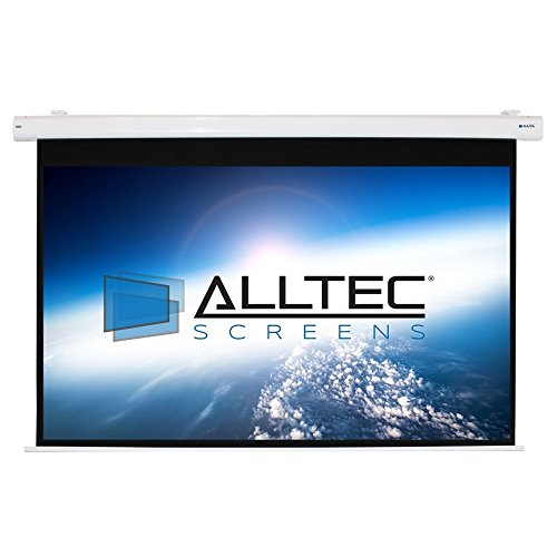 Alltec Screens ATS-E92HW Electric HDTV Format Projector Screen 92