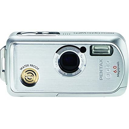 amazon com pentax optio wpi 6mp waterproof digital camera with 3x rh amazon com Pentax Optio Software Pentax Optio S1