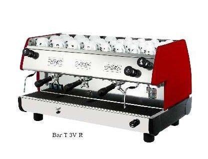 European Gift Bar-T 3V-R La Pavoni Bar-T 3V-R 3 Group, Red