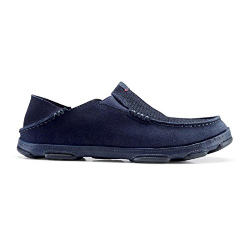 Slip-on In Pelle Olukai Moloa Kohana In Carbonio