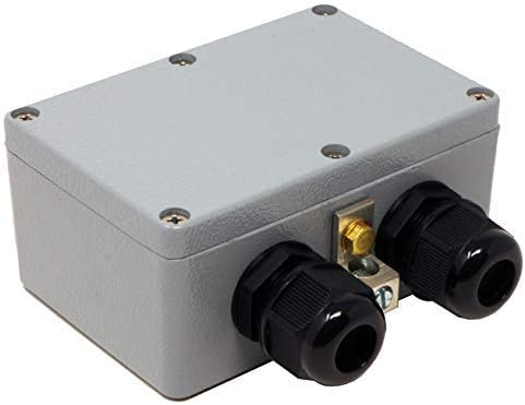 Waterproof Ethernet Surge Protector PoE Gigabit – GDT Gas Discharge Tube – RJ45 Lightning Suppressor – LAN Network CAT5 CAT6 Thunder Arrestor – GbE 1000 Mbps – Weather Water Resistant – Tupavco TP306