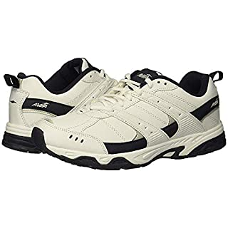 Avia Men's Avi-Verge Sneaker, White/True Navy, 8 Medium US