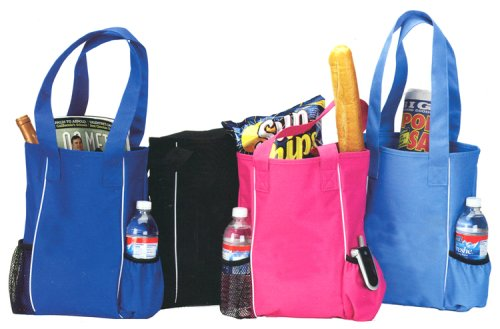 Daily Tote Bag with piping trim