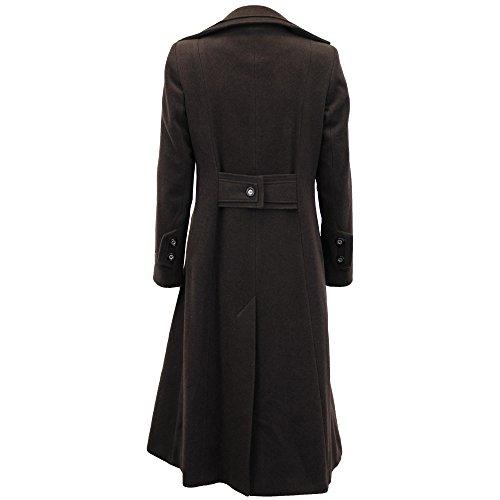Marron Manteau Veste Trench Laine Doubl Pull Cachemire Femmes Pardessus Pour Wolp0218z Hiver Femmes 5Pw1rPInq