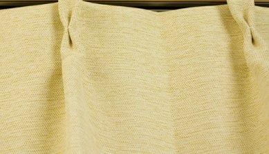 ブリーズ 1級遮光防炎遮熱カーテン 2枚入 巾130cmX丈135cm イエロー B00MHJ2QP4 130X135|イエロー イエロー 130X135