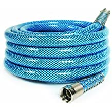 """Camco 25ft Premium Drinking Water Hose - Lead and BPA Free, Anti-Kink Design, 20% Thicker Than Standard Hoses 5/8""""Inside Diameter (22833)"""