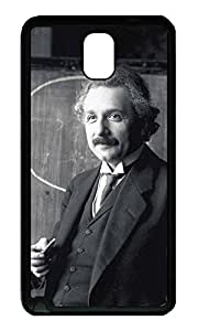 Note 3 Case, Galaxy Note 3 Case, [Perfect Fit] Soft TPU Crystal Clear [Scratch Resistant] Albert Einstein Creativity Back Case Cover for Samsung Galaxy Note 3 N9000 Cases