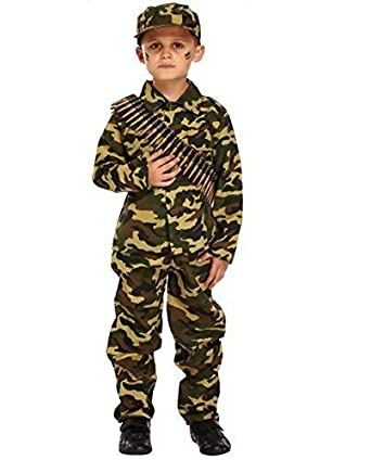 9fd452d47 Boys Camouflage WW1 WW2 Army Soldier Boy Military Armed Forces Book ...