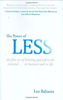 The Power of Less: The Fine Art of Limiting Yourself to the Essential...in Business and in Life (1401309704) | Amazon price tracker / tracking, Amazon price history charts, Amazon price watches, Amazon price drop alerts