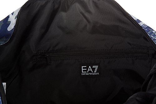 Emporio Armani EA7 Sporttasche Herren Fitness Tasche Umhängetasche Nylon train 7