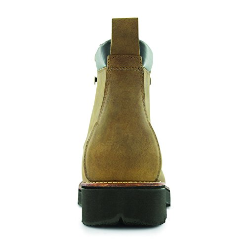 6'' Men's 6 XL Boots Leather BossSole Work Abram Boot 5 3W Tan Trailblazer Livingston A5fPAtq