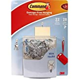 3M Command Damage-Free Hanging 22 Wire Hooks