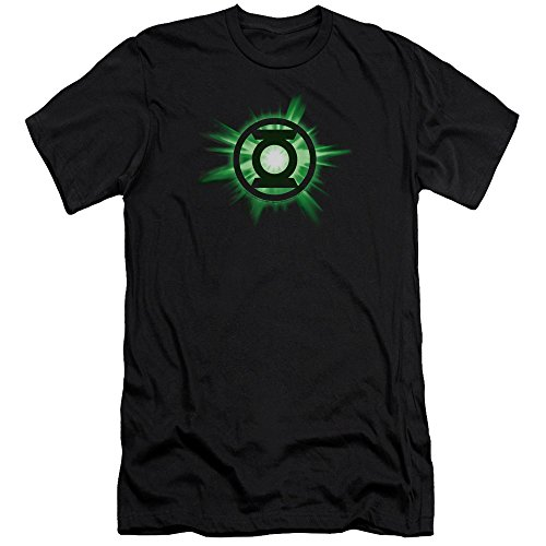 Green Lantern Green Glow Unisex Adult Canvas Brand T Shirt for Men and Women, Large