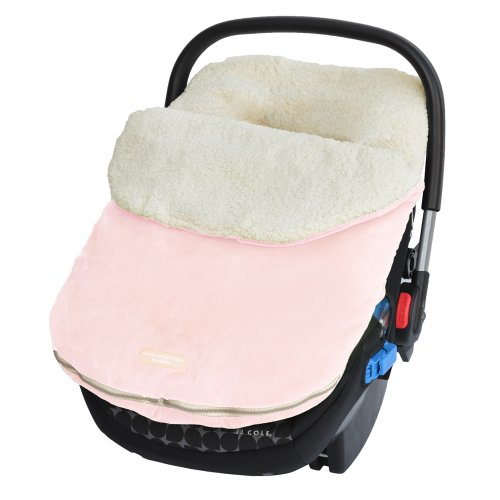 Infant Car Seat Footmuff (Jj Cole Original Bundleme, Infant Pink)