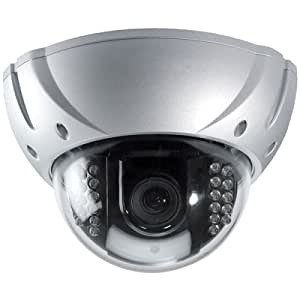 Speco Technologies Hi-Res Color Vandal-Proof Weather-Proof Dome Camera with IR LEDs