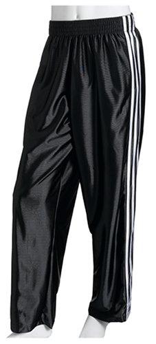 Adidas hombre 's 3 Stripes: Dazzle Tear Away Pant, negro / White