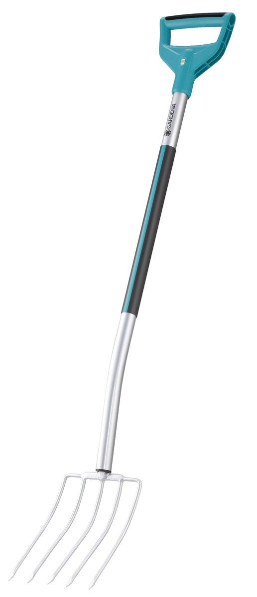 Gardena 3782-20U Terraline Compost Fork - with D Handle
