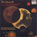 Hindemith: Die Harmonie Der Welt; The Harmony of the World