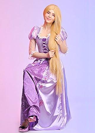 Magic Box Disfraz de Rapunzel Disney para Mujer Adulta Large (UK ...