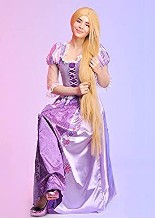 Magic Box Disfraz de Rapunzel Disney para Mujer Adulta Large (UK 16-18)
