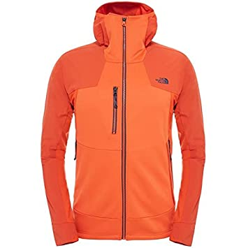 ea9d8acce2 THE NORTH FACE - Veste Homme - JACKSTER HYBRID HOODIE M Orange - tailles: M:  Amazon.co.uk: Sports & Outdoors