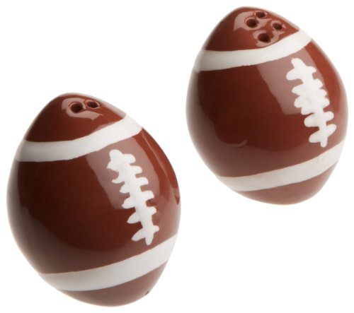 DII Game Day Salt and Pepper Shakers - Football Salt Pepper Shakers